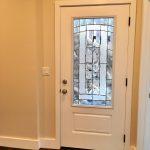 Door to downstairs unit