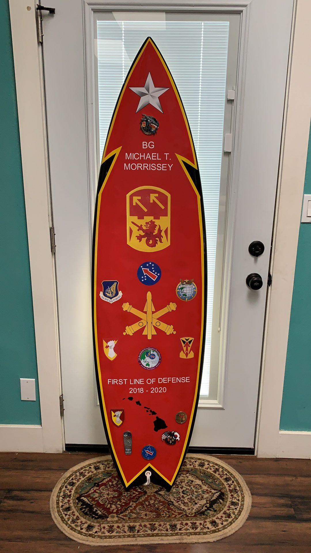BG Morrissey's board