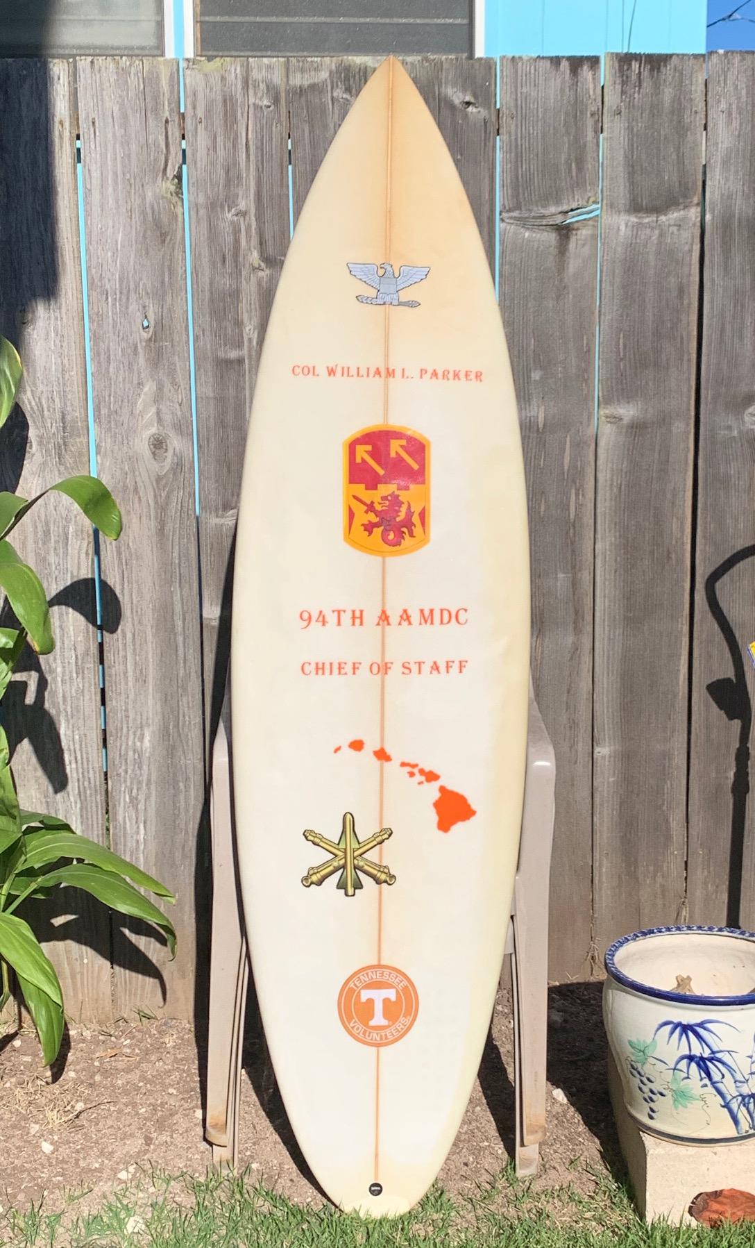 COL Parker Board